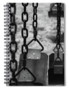 Swings Spiral Notebook
