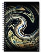 Swirl Design  Spiral Notebook
