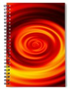 Swirled Sunrise Spiral Notebook