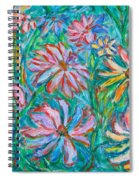 Swirling Color Spiral Notebook