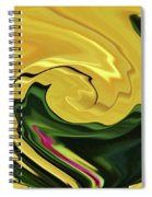 Swirling Colors Spiral Notebook