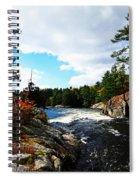 Swirling River Spiral Notebook
