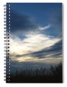Swirling Skies Spiral Notebook