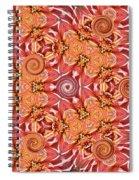 Swirls Abstract Spiral Notebook