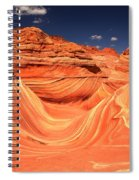Swirls And Buttes At The Wave Spiral Notebook