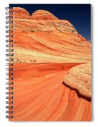 Swirls And Petrified Dunes Spiral Notebook