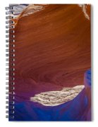 Swirls Spiral Notebook