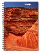 Swirls Waves And Buttes Spiral Notebook