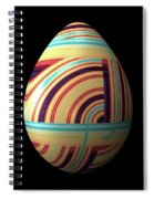 Swirly Easter Egg Spiral Notebook
