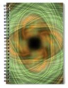 Swirly Plaid Spiral Notebook