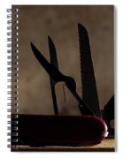 Swiss Army Spiral Notebook