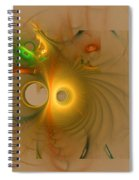 Swiss Cheese Look Spiral Notebook