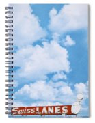 Swiss Lanes Spiral Notebook