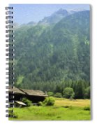 Swiss Mountain Home Spiral Notebook