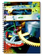 Swiss Movement Spiral Notebook
