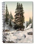 Switzerland: Davos, C1895 Spiral Notebook