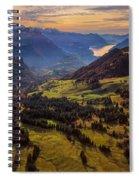 Switzerland Spiral Notebook
