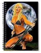 Sword And Dagger Spiral Notebook