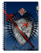 Sword And Shield Spiral Notebook