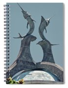 Swordfish Sculpture Spiral Notebook