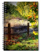 Sycamore Grove Fence 1 Spiral Notebook