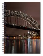 Sydney Harbor At Night Spiral Notebook