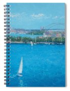 Sydney Harbour And The Opera House Vacation Spiral Notebook