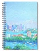 Sydney Harbour Impression Spiral Notebook