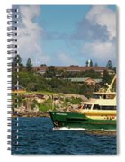 Sydney Harbour Panorama Spiral Notebook