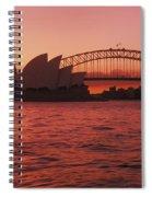 Sydney Opera House Spiral Notebook