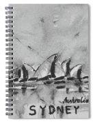 Sydney Spiral Notebook