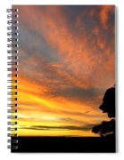 Sydney Sunset 10-06 Spiral Notebook