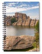 Sylvan Lake View Spiral Notebook