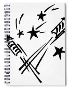 Symbol: Independence Day Spiral Notebook