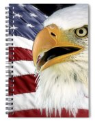 Symbol Of America Spiral Notebook