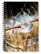 Symbol Of Spring Spiral Notebook