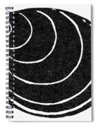 Symbol: Silence Spiral Notebook
