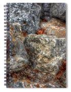 Symbolic Steps Of Life Spiral Notebook