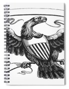 Symbols: American Eagle Spiral Notebook