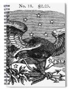 Symbols: Eagle Spiral Notebook