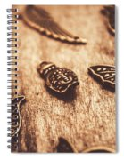 Symbols Of Zen Spiral Notebook