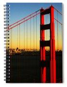 Symphonie In Steel Spiral Notebook