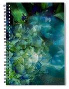 Symphony In Blue Spiral Notebook