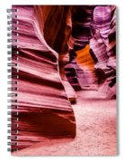 Antelope Canyon Light Spiral Notebook