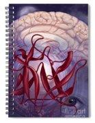 Symptom Clusters, Illustration Spiral Notebook
