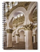 Synagogue Of St Mary The White Spiral Notebook