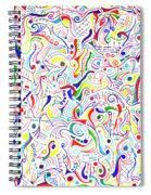 Synesthesia Spiral Notebook