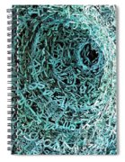 Syntax Sculpture 2  Spiral Notebook
