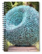 Syntax Sculpture  Spiral Notebook