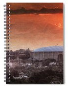 Syracuse Sunrise Over The Dome Spiral Notebook
